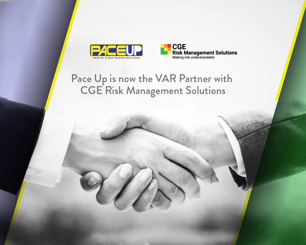 Pace Up-CGE Partnership Announcement Poster