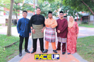 Pace Up Staff Posing for Raya