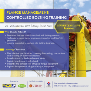 Flange Management Controlled Bolting Training